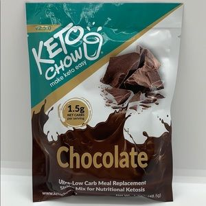 NWT Keto Chow Chocolate KETO Meal Replacement
